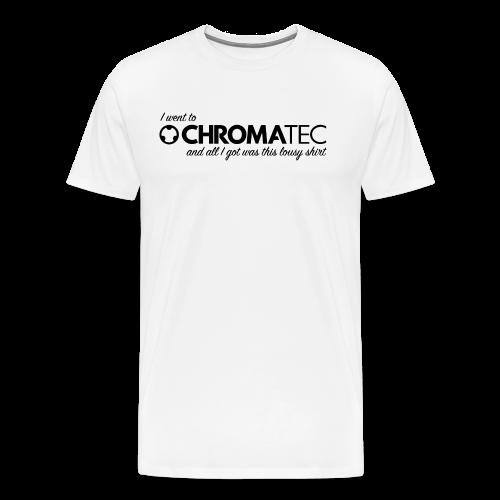 Men's ChromaTec Souvenir Shirt (Dark Print) - Männer Premium T-Shirt