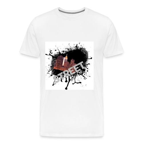 the street shirt - Herre premium T-shirt