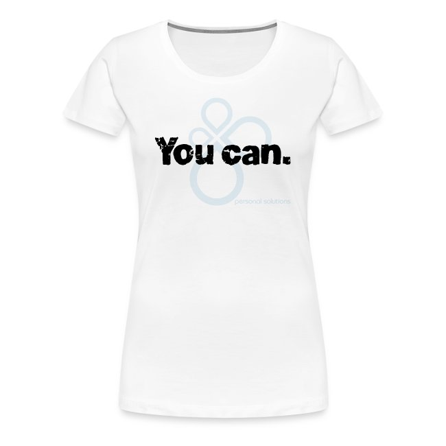 You can. Ladies tee