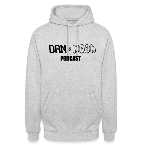 Dan & Noah Unisex Hoodie (BLACK). - Unisex Hoodie