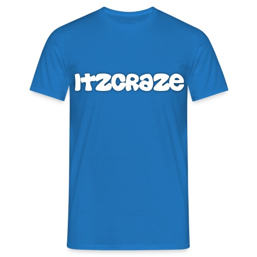 ItzCraze T-Shirt Blue - Men's T-Shirt