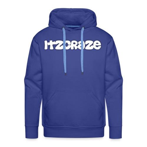 ItzCraze Hoodie Blue - Men's Premium Hoodie