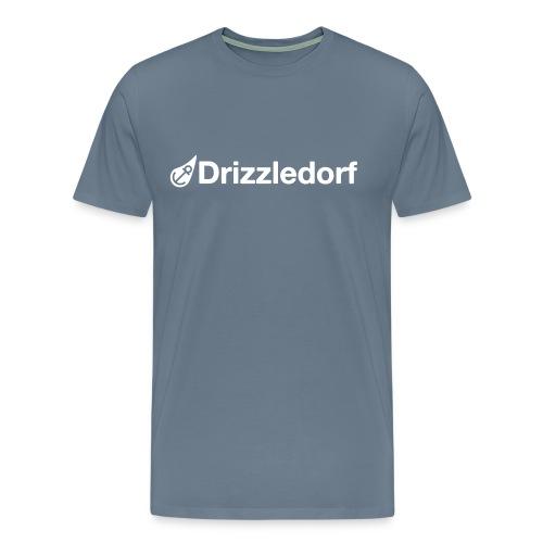 Drizzledorf Logo Tee Cloud - Männer Premium T-Shirt