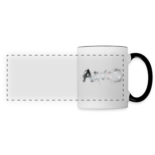 AbySs DarkWhite Mug - Mug panoramique contrasté et blanc