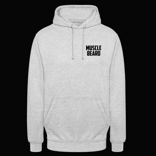 Muscle beard logo hoodie - Unisex Hoodie