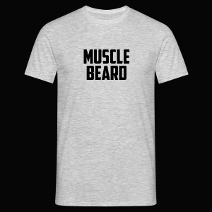 Muscle beard tee - Men's T-Shirt