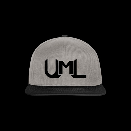 UmL Gaming SnapBack Black Text - Snapback Cap