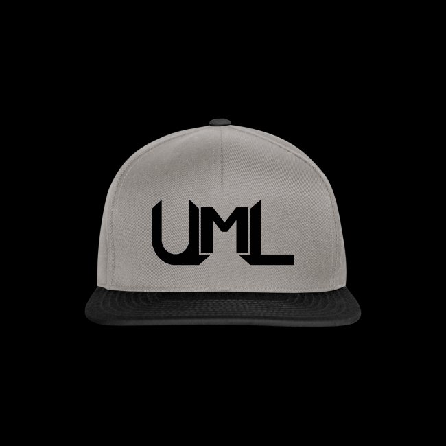 UmL Gaming SnapBack Black Text