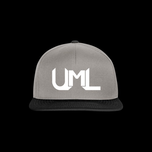 UmL Gaming SnapBack White Text - Snapback Cap