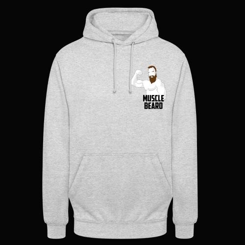 Muscle beard pose hoodie - Unisex Hoodie
