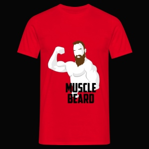 Muscle beard pose tee - Men's T-Shirt