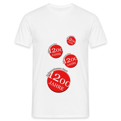 Jubiläums T-Shirt Erdmannhausen 1200 Jahre - Männer T-Shirt