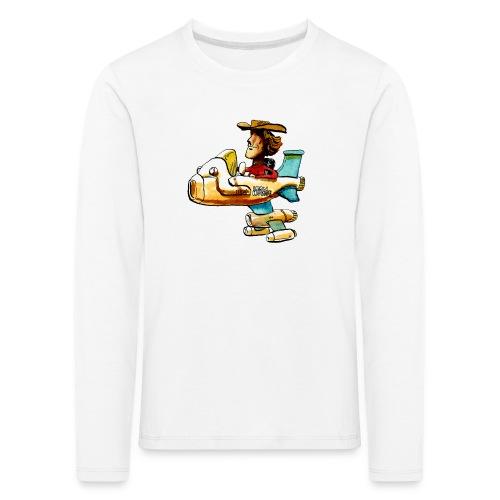 Iron Horse - Kinder Premium Langarmshirt