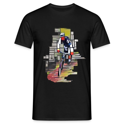 Mountain Bike 1 - T-skjorte for menn