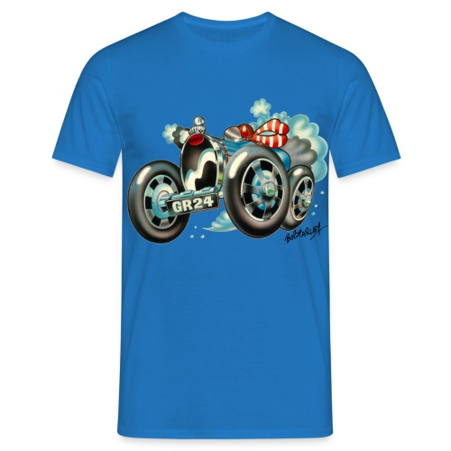 Bugatti Cartoon - Men's T-Shirt