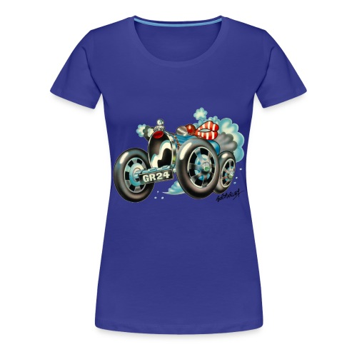 Bugatti Cartoon - Women's Premium T-Shirt