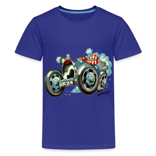 Bugatti Cartoon - Teenage Premium T-Shirt