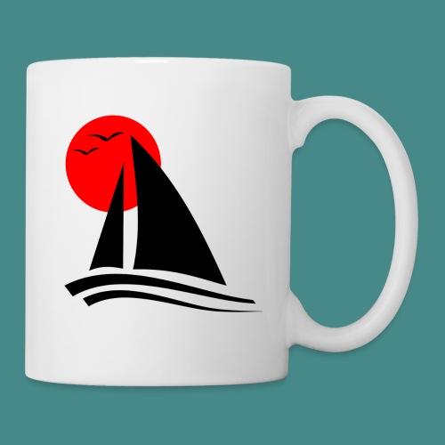 Sailing Black - Mug