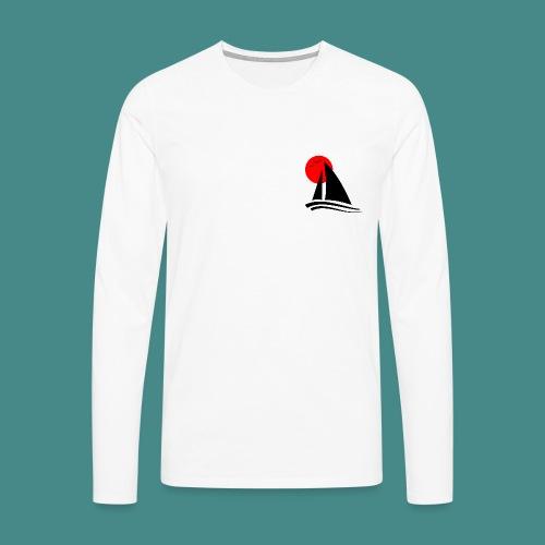 Sailing Black - Men's Premium Longsleeve Shirt