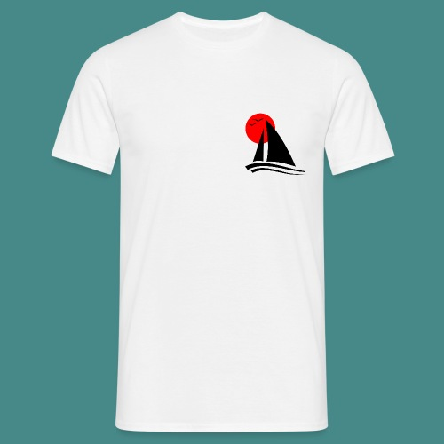 Sailing Blackl - Men's T-Shirt