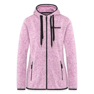 Girls Fleece - Frauen Kapuzen-Fleecejacke