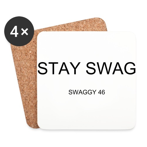 SWAGGY 46 COASTERS - Coasters (set of 4)