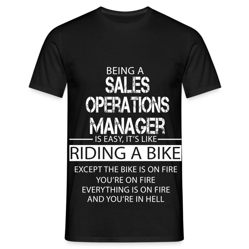 Sales Operations Manager T-Shirt | Spreadshirt