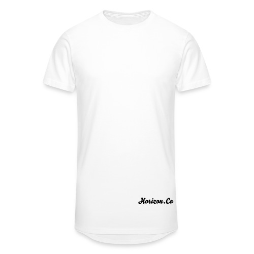 Horizon.co Mens Longline Tshirt - Men's Long Body Urban Tee