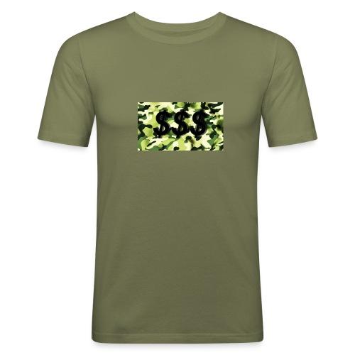 Camouflage Shirt, Herren - Männer Slim Fit T-Shirt
