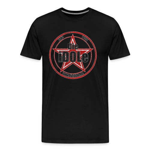 Die iDOLe T-Shirt Aged Logo (Premium Spreadshirt) - Männer Premium T-Shirt