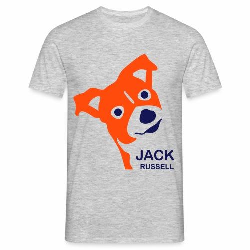 Jack Russell - Herren T-Shirt - Männer T-Shirt