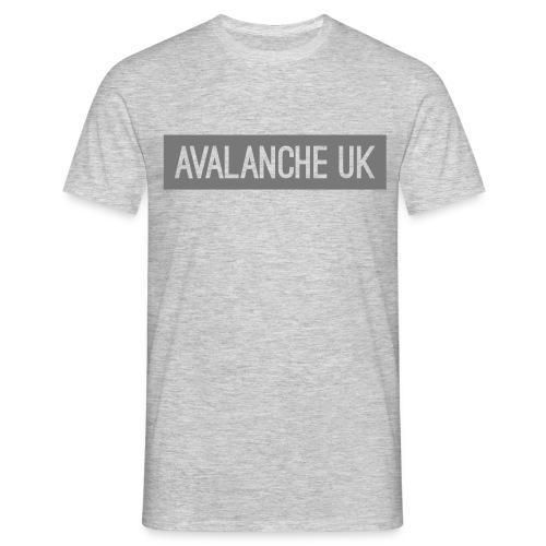 Nameplate - grey - Men's T-Shirt