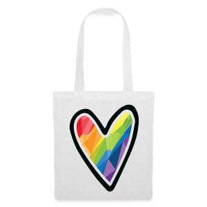 Rainbow Heart! - Tote Bag *Pride Deluxe Edition! - Tote Bag