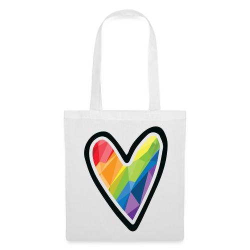 Rainbow Heart! - Tote Bag *Pride Deluxe Edition! - Tote Bag