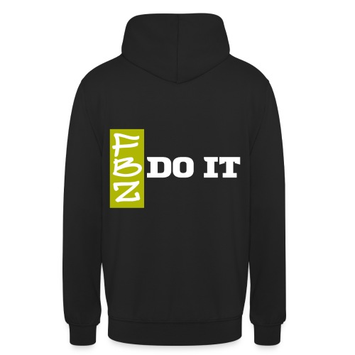 Logo DO IT - Sweat-shirt à capuche unisexe