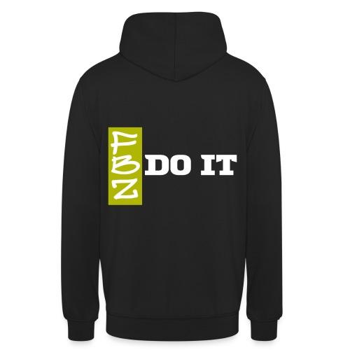 Logo DO IT - Sweat-shirt à capuche unisexe