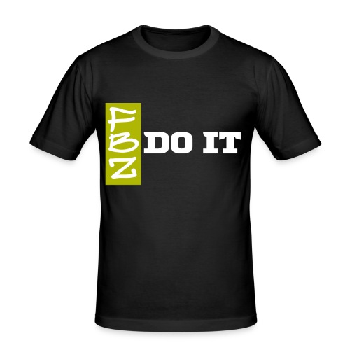Logo DO IT  - T-shirt près du corps Homme