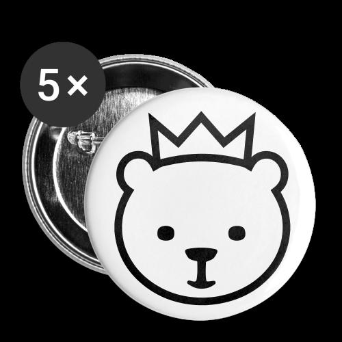 Berliner Bär - Buttons klein 25 mm