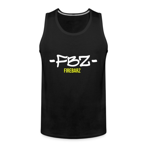 Logo FireBarz - Débardeur Premium Homme