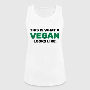 This is what a vegan looks like Sports wear - Women's Breathable Tank Top