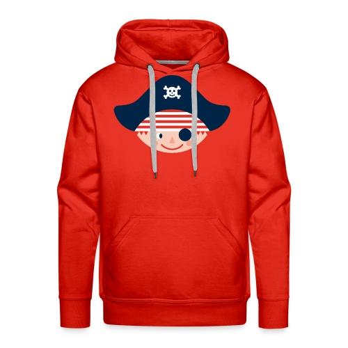 Kapuzen-Sweatshirt für große stadtpiraten - Männer Premium Hoodie
