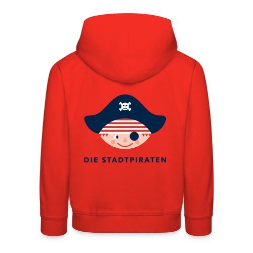 Kapuzen-Sweatshirt für kleine stadtpiraten und kleine stadtpiratinnen - Kinder Premium Hoodie