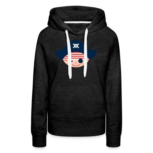 Kapuzen-Sweatshirt für große stadtpiratinnen - Frauen Premium Hoodie