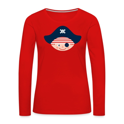 Langarm-Shirt für große stadtpiratinnen - Frauen Premium Langarmshirt