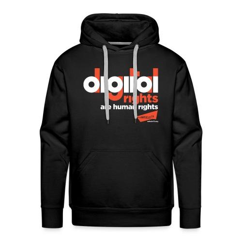 Men Premium Hoodie Digital Rights - Men's Premium Hoodie