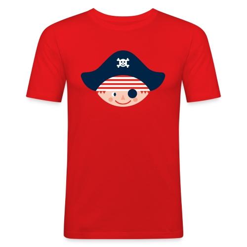 Schmal geschnittenes T-Shirt für große stadtpiraten - Männer Slim Fit T-Shirt