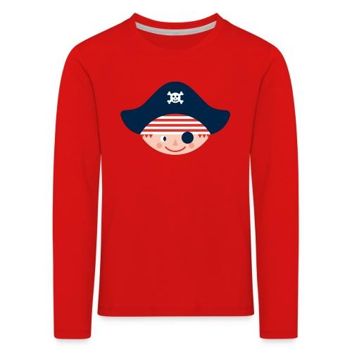 Langarm-Shirt für kleine stadtpiraten und kleine stadtpiratinnen - Kinder Premium Langarmshirt
