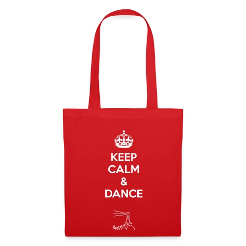 Keep calm and dance Shopping-Tasche - Stoffbeutel
