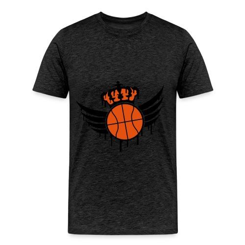 Basketball T-Shirt [Mans] - Männer Premium T-Shirt