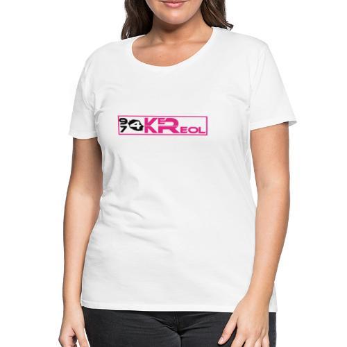 T-shirt Premium Femme 974 Ker Kreol - T-shirt Premium Femme
